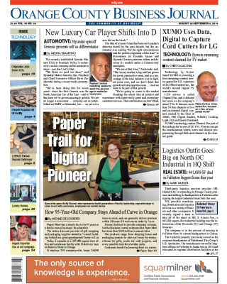 OCBJ Digital Edition August 29, 2016
