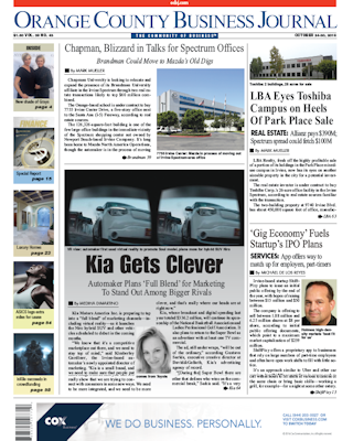 OCBJ Digital Edition Oct 24, 2016