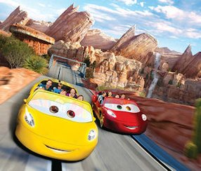 Cars Land: part of larger effort to attract visitors to Disneyland Resort