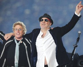 The Who: English rock band performing at the Honda Center in Anaheim on Jan. 28