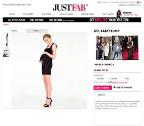 The Oh Baby! Bump on JustFab.com.