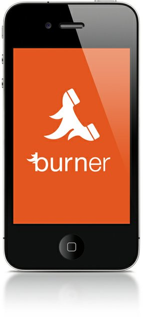 The Burner app.