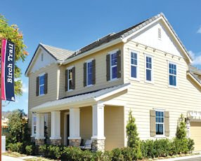 Birch Trail by Richmond American Homes: one of 31 models from eight builders at FivePoint's Pavilion Park