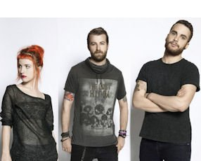 Paramore: performs at the Honda Center in Anaheim on Oct. 19