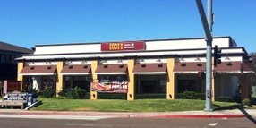 Coco's Bakery Restaurant in Kearny Mesa (photo courtesy of Capital Real Estate Ventures Inc.)