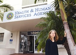 Karen Waters-Montijo, chief of immunizations for the county's Public Health Department, says the county is expecting to get shipments of the H1N1 vaccine in October.