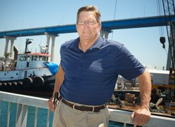The outlook for the local ship repair industry is good, says trade group executive Derry Pence.