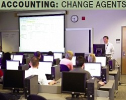 Students: Top firms actively recruit graduates of the CSUN accounting program.
