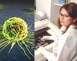 Agendia worker in Huntington Beach: company does genetic breast cancer screening