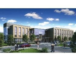 Gavin Herbert Eye Institute conceptual design: UC Irvine's raised $29 million toward building