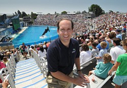 Andy Fichthorn is general manager of SeaWorld San Diego. The Blackstone Group is buying SeaWorld and nine other theme parks for $2.3 billion in cash.