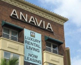 KB Home's Anavia development: 250 apartments opened this month