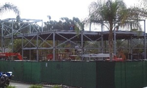 Jared's Galleria of Jewelry: under construction in Mission Viejo