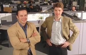 Torres, left, Langenberg: started company in 2006