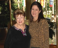 Frieda Caplan, left, Jackie Caplan Wiggins: Karen and her sister, Jackie bought the company from Frieda in 1990