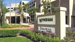 Wyndham Hotel in Costa Mesa: foreclosed on in July