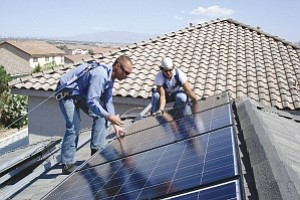 Simple: Group purchasing of solar panels makes a complex process easier.