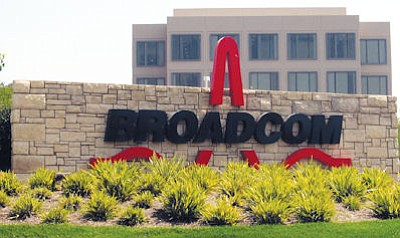 Broadcom's headquarters: 2,000 workers, many engineers