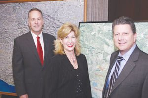 Executives: Mark Subbotin, left, Marlee Lauffer and Don Kimball.