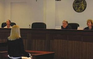 Chapman's mock trial: law students hone professional skills at school