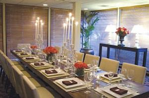 Dining: Renovations have  touched all areas of the hotel.