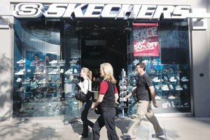 Skecher's store at Santa Monica's Third Street Promenade.