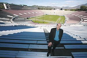 Rose Bowl CEO Darryl Dunn.