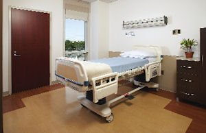 New patient room rendering: hospital set to have 154 private rooms