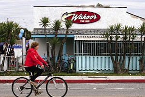 Wahoo's restaurant: set to pop up in non-surf spots