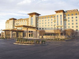 Embassy Suites: Hotel opened Feb. 1