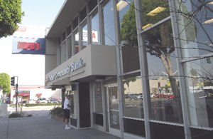 Fullerton Community Bank in downtown Fullerton: No. 2 thrift narrowed deposit gap with OneWest to about $150 million
