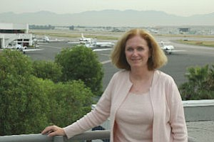 Selena Birk served airport for 10 years.