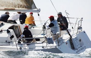 Racing yacht: local enthusiasts included late Roy Disney