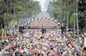 Competitor Group hosts San Diego's annual Rock 'n' Roll Marathon. The marathon series is being held in 13 other cities across the country this year.