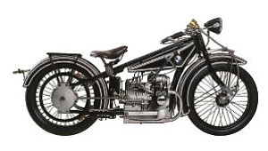 Vintage BMW motorcycle: set to be displayed at Concours d'Elegance in June