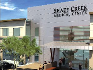 Rendering of Shady Creek: Centra looking for a buyer with site plan in place