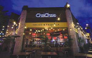 Cha Cha's Tacos: features Latin-inspired dishes made in a wood-burning oven