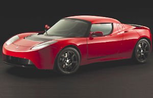 Tesla Roadster: set to be sold on Newport's Auto Row