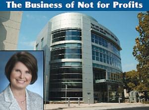 President: Patricia Modrzejewski.  Cancer Center: Foundation raised $40 million for the Burbank facility.