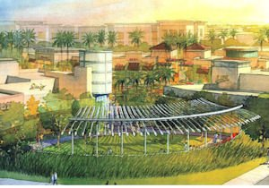 Rendering of La Floresta: preliminary construction work set to start this year