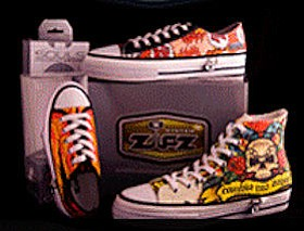 Zipz System shoes designed in Irvine, sold in boutiques, other countries.