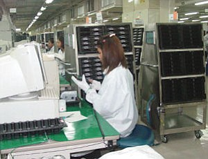 Western Digital factory in Thailand: company's local growth helped stem overall employment cutbacks