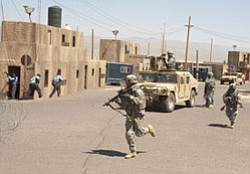 Military training takes place at Fort Irwin. The mainstay of Cubic's business lies in producing military training systems.