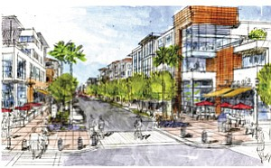 Multifamily housing units are a component of the proposed Millenia, a $4 billion Otay Ranch project consisting of 3.5 million square feet of commercial space, two hotels, a fire station and a library.