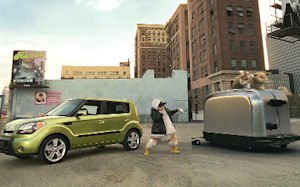 Kia Soul ad shoot: set for TV, theaters, Web