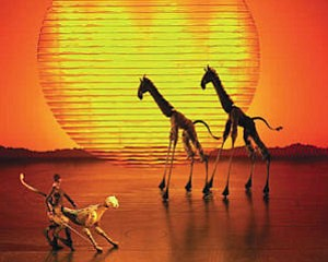 "Disney's ""The Lion King"" at Orange County Performing Arts Center"
