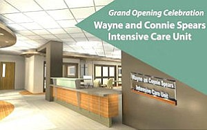 MAYO: Wayne and Connie Spears Intensive Care Unit