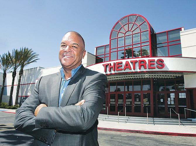 Ken Lombard, Capri Urban Investors president, at the former AMC theater at Baldwin Hills Crenshaw Plaza.