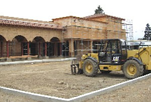 Shopping center under construction in Tustin: $2 million project