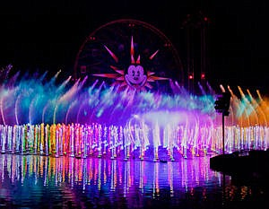 World of Color: 25-minute show part of $1 billion park revamp